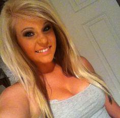 Blonde hair with brown underneath