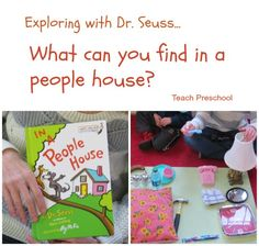 What can you find in a people house? Exploring with Dr. Seuss