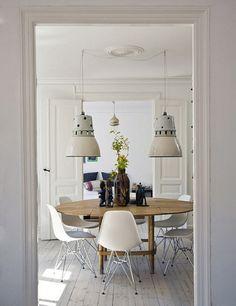 the home of danish designer brigitte rabens by the style files, via Flickr #Home #Interior #Design #Decor ༺༺  ❤ ℭƘ ༻༻  IrvinehomeBlog.com