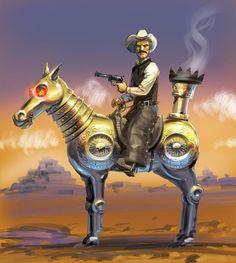 Cowboy Steampunk wild steampunk, steampunk art, steampunk fashion, steampunk luki, cowboy steampunk, steampunk cowboy, steampunk west, western steampunk, steam réserv