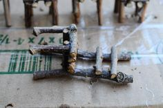 Twig Chair Tutorial... fairy chairs for my eventual fairy garden