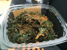 Nacho kale chips. Superfood? Or super gross? What do you think? www.liveto110.com