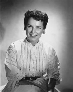 Actress Mercedes McCambridge, c. 1950   -  (interesting fact, she was the voice of the demon child in the movie The Exorcist).