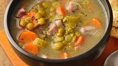 Split Pea Soup with Veggies