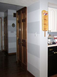 Trim on pinterest wood trim wood doors and white trim for Bi color kitchen cabinets