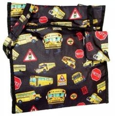 SCHOOL BUS DRIVER PRINT TOTE BAG SCHOOL HANDBAG NEW  for US $5.75 USD
