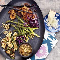Vegetables with Walnut Dressing // More Great Vegetable Dishes: http://www.foodandwine.com/slideshows/healthy-vegetables #foodandwine