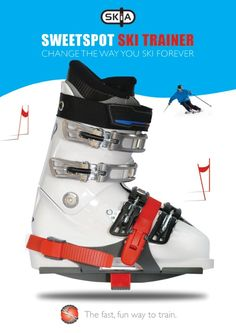 The Sweetspot ski trainer helps you improve control, turns, balance and posture