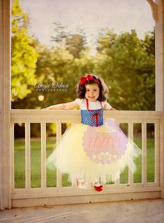 SALEPrincess Snow White Dress by MMT by MsMadelinesTutus on Etsy, $40.00