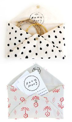 little pockets for sweet gifts