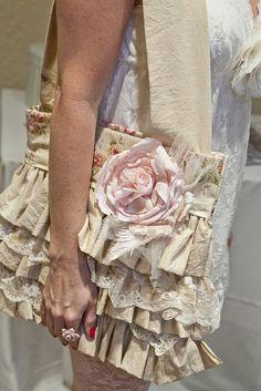 very pretty ruffle bag