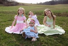 Little Girl Dresses to Sew - links to tutorials for all.  Very good.