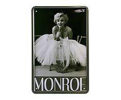 Chapa Retro Monroe - 20x30