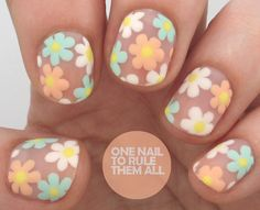 Tutorial Tuesday: Negative Space Florals - One Nail To Rule Them All
