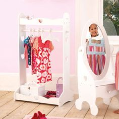 I think I could make this costume rack. How long to kids keep playing dress-up?