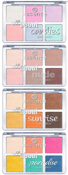 Spring 2014: Essence Eye Product Collection - All About…Eyeshadow Palettes