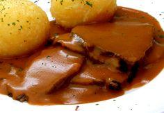 Sauerbraten (with rump roast) _ Source: http://artbymichelewilson.com/sauerbraten.htm