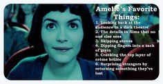 Amelie`s Favorite Things