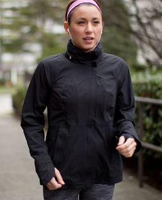 RUN: In The Rain Jacket.