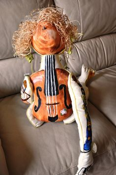 Doll Orchestra by OlgaKina on Etsy