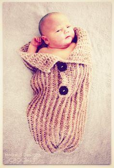 KnitLook Baby Bundler  Pattern by hollanddesigns