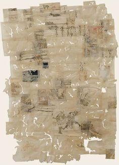 journey through mushkui no. 12 ~ collage ~ by yuko kimura