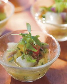 Bay Scallop and Tomato Ceviche with Key Lime Recipe