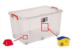 Hamster kafesi yapmak için saklama kabı kullanabilirsiniz! Nasıl mı? Buyurun: http://www.hamsterville.org/2013/05/saklama-kabindan-hamster-kafesi-yapimi.html