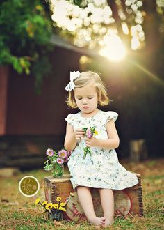 such a pretty spring/summer portrait