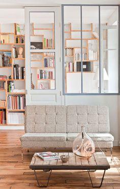 Designer-Files-Apartment-34-Parisian-Loft -designed by Muriel Cibot.