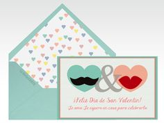 Tarjetas de amor, tarjetas de San Valentín, tarjeta de enamorados, Día de San Valentín, Día de los enamorados, Día del amor, amor, 14 de febrero, corazones, bigotes, boca, besos, besos    Para más Info Visita: La Belle Carte www.LaBelleCarte.com    Online cards Saint Valentine's Day, online greeting cards Saint Valentine's Day,love, cute, hearts, mustache, kisses     For More Info Visit: La Belle Carte www.LaBelleCarte.com/en
