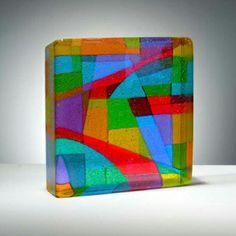 Pismo Fine Art Glass  Dorothy Hafner  Color! Love it!