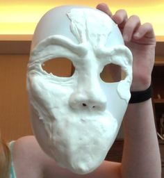 how to make a weeping angel mask