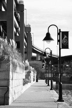 a place for a nice afternoon stroll: Richmond Canal Walk, Richmond, VA