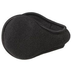 Degrees by 180's Men's Fleece Ear Warmers - Black