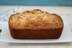 Classic Banana Bread - A light, fluffy, low calorie bread, chock full of banana flavor.