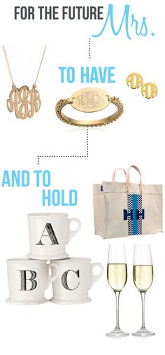 forthefuturemrs-01.  Cute gift ideas for brides!