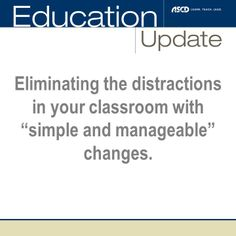 Do you have distracted students in your classroom? Use these tips to make a plan to refocus your students.