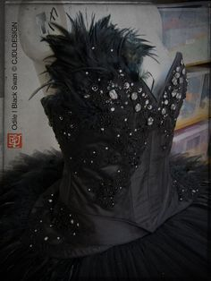 Odile Black Swan Custom Tutu