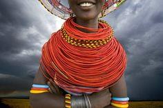 bead necklac, africa adorn, african inspir, beaded necklaces, art africain, inspir jewelri, angl, tribal inspir, jewelri inspir