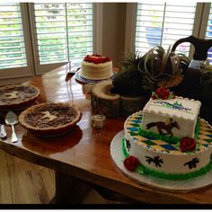 Kentucky Derby decorated cake