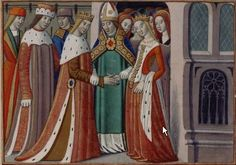 Image from Vigiles de Charles VII by Martial d'Auvergne.
