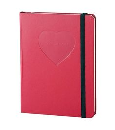 marc jacobs heart notebook.