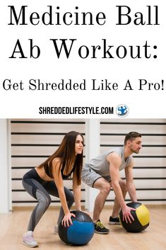 There are lots of different ways out there to get lean and achieve shredded abs. You can perform exercises with barbells, dumbbells, your own bodyweight and much more. Learn now how you will get shredded like a pro by performing a medicine ball ab workout. It's an awesome alternative to all other workouts. So, if you want to know how to create awesome ab muscles with the use of medicine balls, then this guide is for you! #shredded #lean #abs #absroutine #workout #medicineball #gym #homeworkout