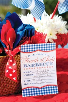 Patriotic Party Invitations and More