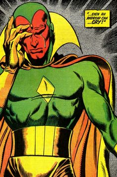 The Vision Marvel Comics