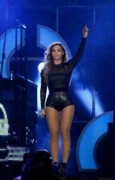 #Beyonce has a #thighgap !