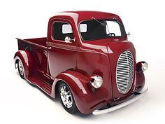 ford coe 1940s debe ser el camion mas bonito de la historia
