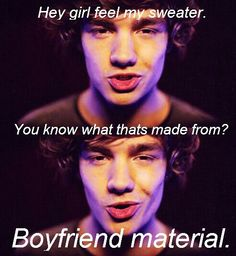 1D pick up lines hahaha good one!! :P