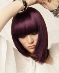 Love this pink / violet hair color
